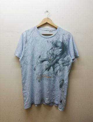 baju ONE PIECE luffy fullprint t shirt