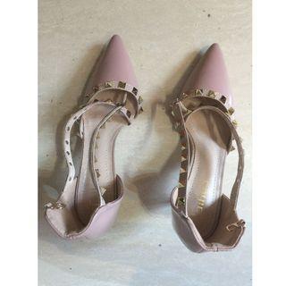 $80 女裝鞋 Shoes 淺粉紅色 零跟-01 36碼