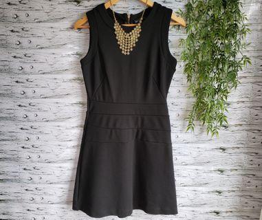 Zara black dress.