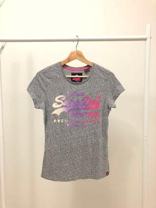 (Original) Superdry T-Shirt for Ladies in Grey #Paradigm