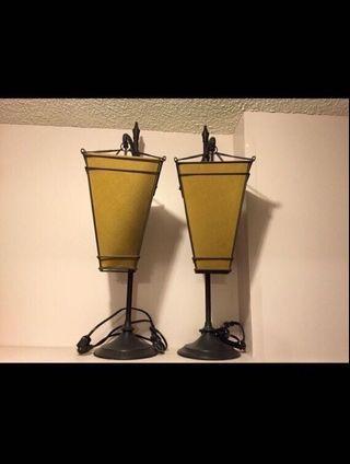 Pottery barn lamps