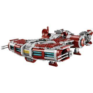 LEGO Star Wars 75025 Jedi Defender-class Cruiser only 淨太空船1艘 (全新 未砌 可與 75240 共融)