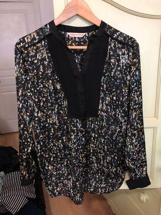 Rebecca Taylor silky blouse XS/S