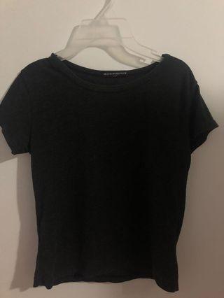Brandy Melville basic grey tshirt