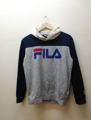 Fila big logo tricolor hoodie