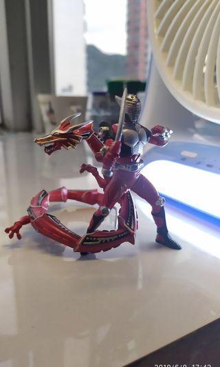 1套4款,幪面超人,龍騎,ryuki,假面