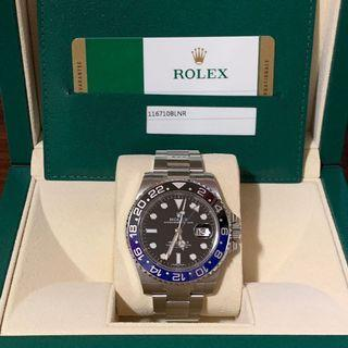"Rolex GMT-Master II 116710BLNR Ceramic ""Batman"""