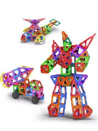 🚚 [Ready Stock] 123pcs Magnetic building block set brand new