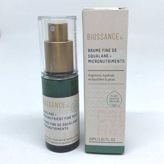 Preloved 95% : Biossance Squalane and Micronutrients Fine Mist 30ml