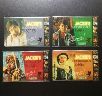 1998 成龍元祿壽司智能卡一套4張