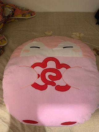 日本貓國小物🐾招財貓坐墊 回彈 電腦椅 家居 冬季 禮物 Japan Cats Cushion