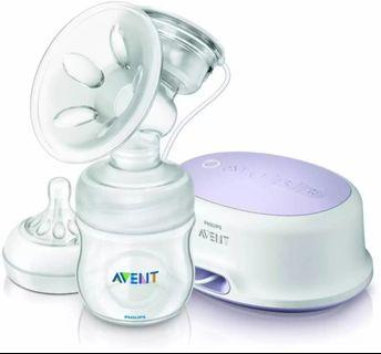 🚚 Philips Avent Single Electric Breast Pump