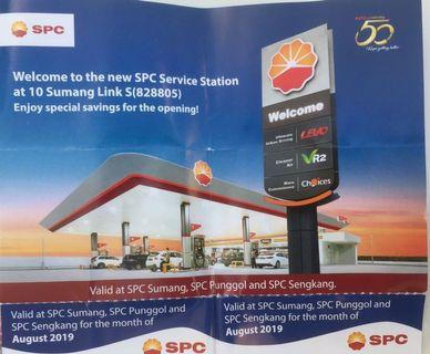 8 x $5 SPC discount vouchers (For July and Aug 2019) for Sale