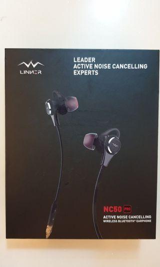 🚚 BNIB- LINNER Wireless Bluetooth Anti Noise Cancelling Headset Earphones