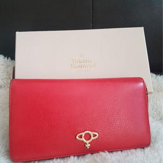 🚚 Red long wallet