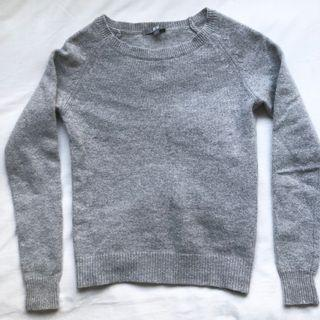 ✨Only $8✨uniqlo grey wool sweater