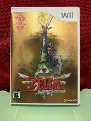 Wii Zelda Skyward Sword US