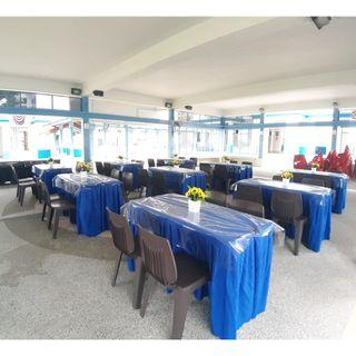 [Rent] Tables and Chairs Rent Rental Cheap Deliver Setup Event Function Wedding Birthday Party Flee Market Roadshow Kenduri Buffet BBQ Barbecue Barbeque Rental Open House Celebration 2