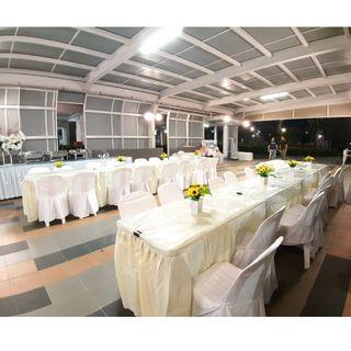 [Rent] Tables and Chairs Rent Rental Cheap Deliver Setup Event Function Wedding Birthday Party Flee Market Roadshow Kenduri Buffet BBQ Barbecue Barbeque Rental Open House Celebration 3