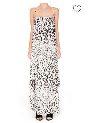🚚 Keepsake snow leopard maxi dress