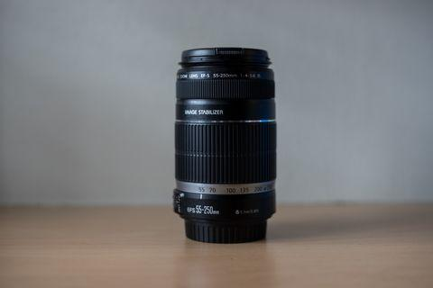 Canon EFs 55-250 f/4-5.6 IS