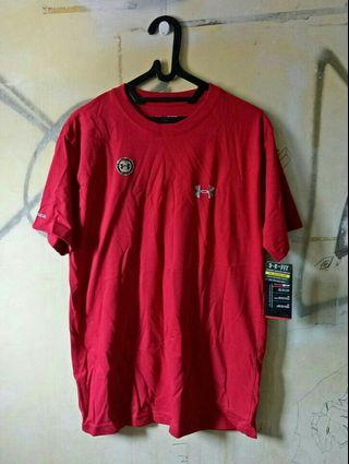 Under Armour Shirt Red