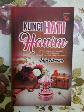 Novel Kunci Hati Hanim, Jaja Ahmad