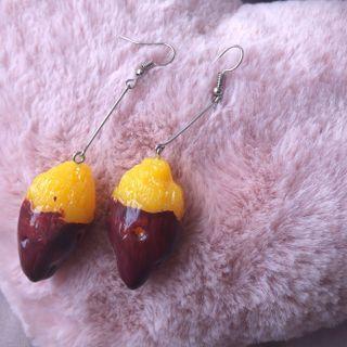 #A3 Potato earring