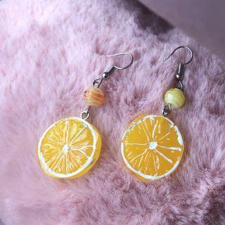 #A2 Lemon earring