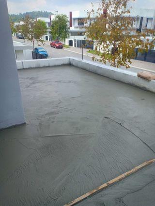 Tukang waterproofing lantai or slab area KL dan selangor