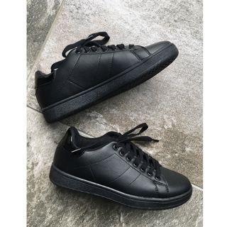 Cotton On black sneakers size 38