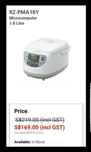 1.8L Hitachi Rice Cookers