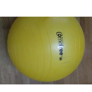瑜珈抗力球 Yoga Stability Ball (Yellow) 26''