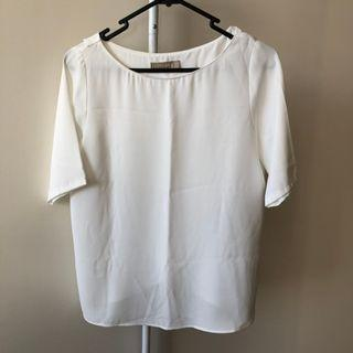 Forcast White Top (Aus size 4, also equivalent to Aus size 6)