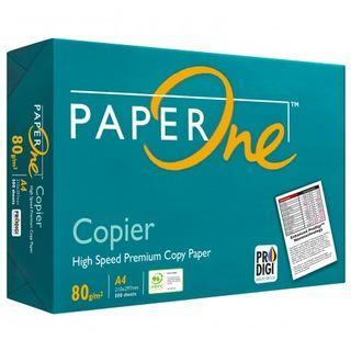 PAPERONE A4 80G 500 SHEETS COPIER PAPER