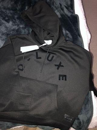 Decjuba d-luxe black hoodie XS