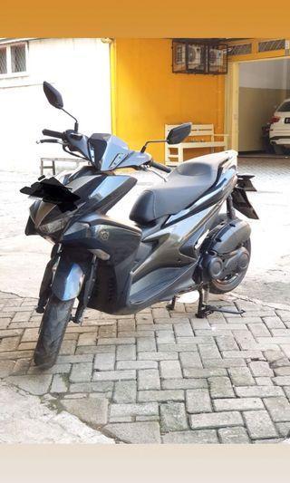 Yamaha aerox 155cc abs 2018 key less type trtinggi