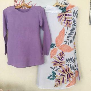 Baju batik moden-cotton