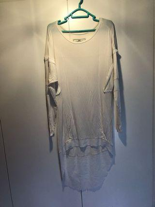 Initial white one piece