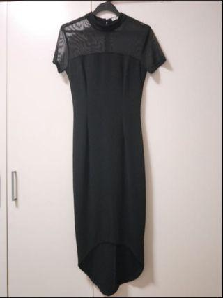 MDS collection Black Mermaid Dress S