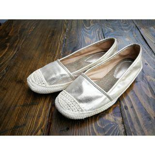 Scandinavian style loafer shoes.
