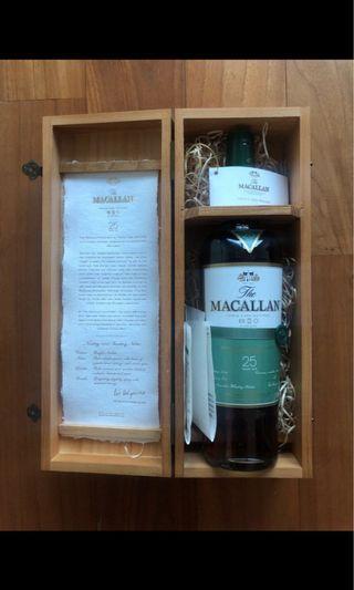 Macallan 25 - Fine Oak