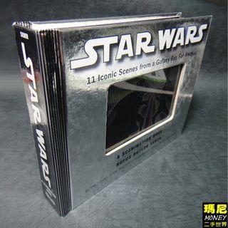 Star Wars: A Scanimation Book: Iconic Scenes from a Galaxy 英文版 星際大戰手翻動畫書-二手書-免運