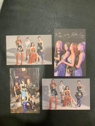 Blackpink Kill This Love Postcards