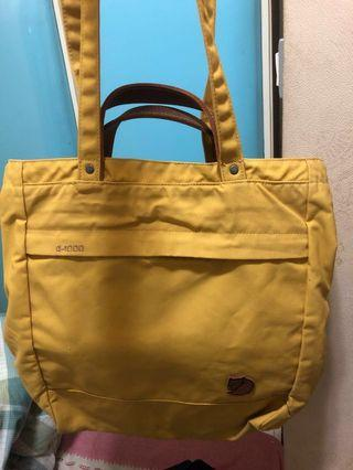 Fjallraven 背包totepack No.1 yellow G-1000