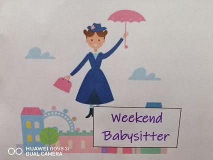 Weekend/hourly babysitter