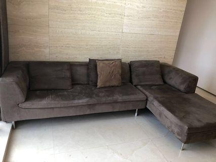 One of a kind German designed sofa (Suede) PLUS others