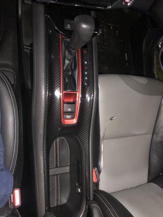 Honda vezel hrv carbon fibre gear console