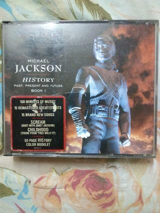 Michael Jackson history 2 CD
