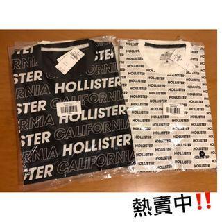 清貨最後一件黑色 XS Hollister Logo Tee